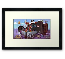Hobbe for Apples - Game Over Framed Print