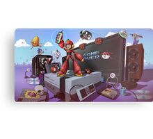 Hobbe for Apples - Game Over Metal Print