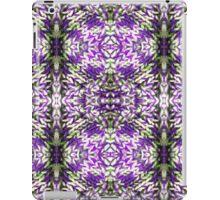 Purple Knitted Circles iPad Case/Skin