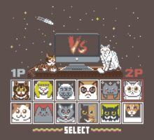 Internet Cat Fight One Piece - Short Sleeve