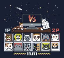 Internet Cat Fight One Piece - Short Sleeve