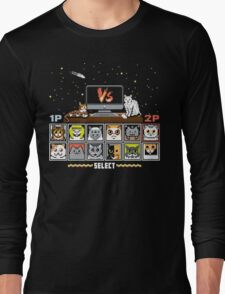 Internet Cat Fight Long Sleeve T-Shirt