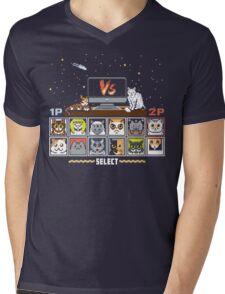 Internet Cat Fight Mens V-Neck T-Shirt