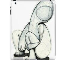 A faceless figure iPad Case/Skin