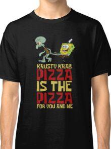 Krusty Krab Pizza - Spongebob Classic T-Shirt