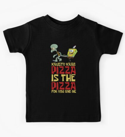 Krusty Krab Pizza - Spongebob Kids Tee