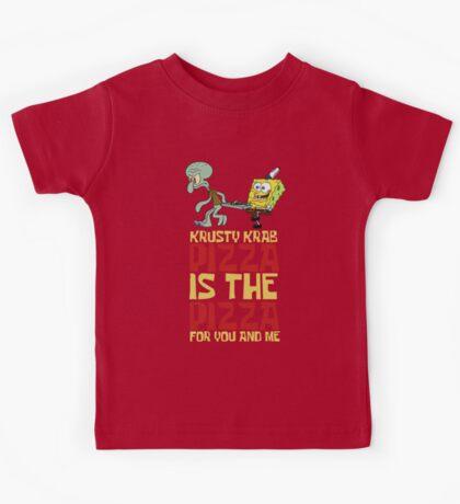Krusty Krab Pizza - Spongebob Kids Tee