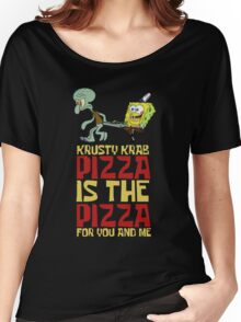 Krusty Krab Pizza - Spongebob Women's Relaxed Fit T-Shirt