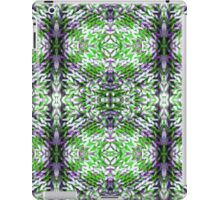 Green and Purple Knit iPad Case/Skin