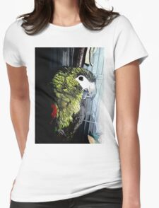 My Little Green One Womens Fitted T-Shirt