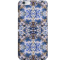 Blue Knitted Circles iPhone Case/Skin