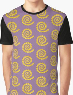 Daisy Mix - Yellow and Pink Graphic T-Shirt