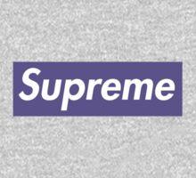 Supreme Purple One Piece - Long Sleeve
