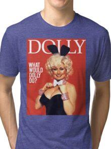 DOLLY PARTON Tri-blend T-Shirt
