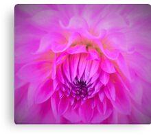 Gentle Floral Wave Canvas Print