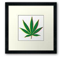 Marijuana Leaf 2 Framed Print