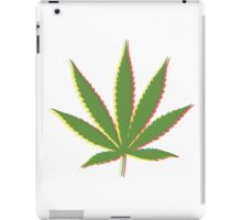 Marijuana Leaf 3 iPad Case/Skin