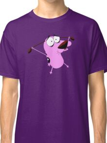 confuse courage dog Classic T-Shirt