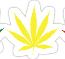 Marijuana Leaf 6 Sticker