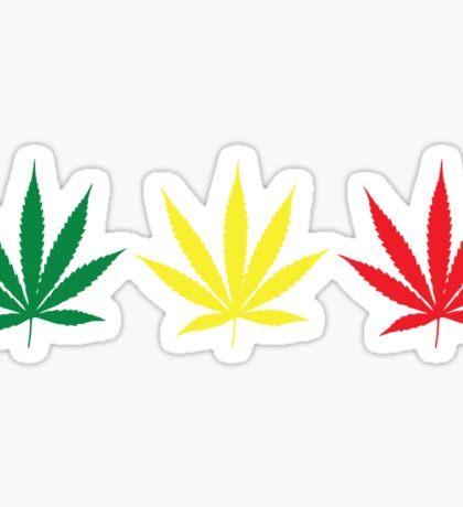 Marijuana Leaf 6 Sticker