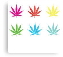 Marijuana Leaf 7 Metal Print