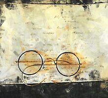 Father's Glasses by Claire Bull