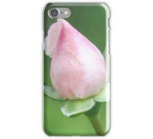 Pink Rose Bud iPhone Case/Skin