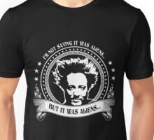 It Was Aliens (Giorgio A. Tsoukalos) Unisex T-Shirt