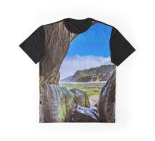 Beach Cave Graphic T-Shirt