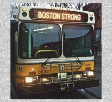 Boston Strong MBTA Bus Kids Tee