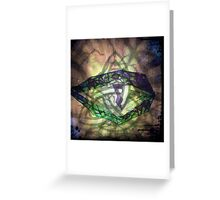 The Dragon Eye Greeting Card
