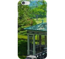 The West Garden Detail - Kykuit Rockefeller Estate | Sleepy Hollow, New York iPhone Case/Skin