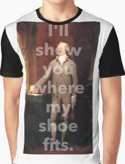 If the Shoe Fits Wear It Graphic T-Shirt