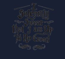 I Solemnly Swear I Am Up To No Good One Piece - Long Sleeve