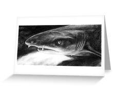 Sarcastic Shark Greeting Card