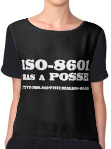 ISO-8601 has a Posse Chiffon Top