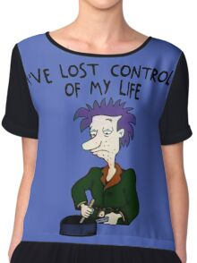 I've Lost Control Of My Life - Rugrats Chiffon Top