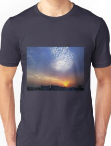 Balloon of clouds at Sunset Unisex T-Shirt