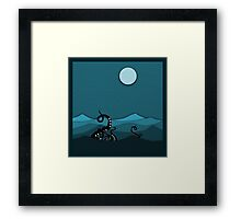 The Lurker Below Framed Print