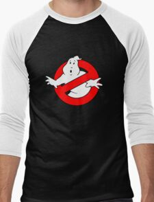 Ghost Busters Men's Baseball ¾ T-Shirt
