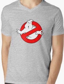 Ghost Busters Mens V-Neck T-Shirt