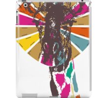 rainbow giraffe iPad Case/Skin