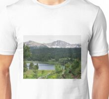 Lake in the Mountains Unisex T-Shirt