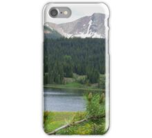 Lake in the Mountains iPhone Case/Skin