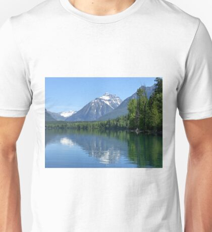 Glacier at Lake McDonald Unisex T-Shirt