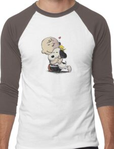 Everything Will Be Okay Peanuts Men's Baseball ¾ T-Shirt