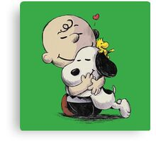 Everything Will Be Okay Peanuts Canvas Print