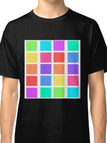 Rainbow Grid Classic T-Shirt