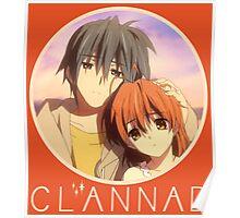 Tomoya And Nagisa Clannad Poster