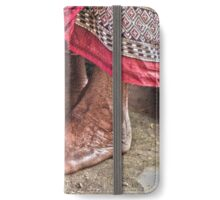 Barefoot at the Temple iPhone Wallet/Case/Skin